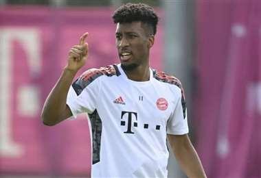 Coman no jugará contra el Greuther Fuerth, este viernes. Foto: AFP