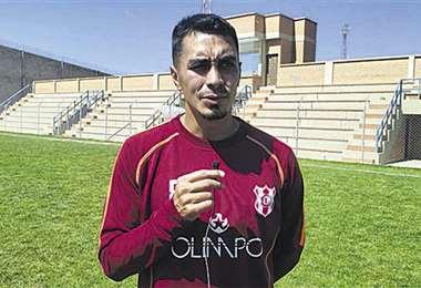 Mijail Avilés, capitán de Independiente