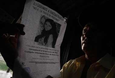 Las familias sufren por la desaparición de sus familiares