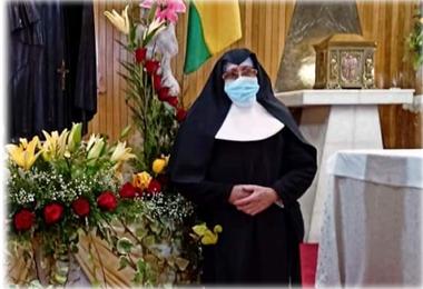Imagen de la sor Asunción que falleció por Covid-19 en Oruro