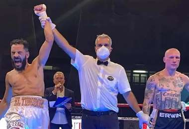 Michele Broili perdió la pelea ante Hassan Nourdine la semana pasada. Foto: Internet
