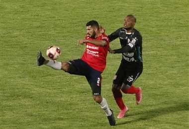 Wilstermann e Independiente juegan en el Félix Capriles. Foto: APG