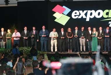 Fexpocruz premió a los mejores expositores de la feria/Fuad Landívar