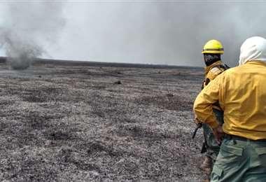 Los incendios continúan arrasando las áreas protegidas