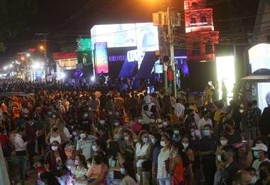 El sábado, 26 de septiembre ,hubo una gran asistencia del público (Foto: Jorge Ibáñez)