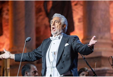 Plácido Domingo, tenor español. Foto. Internet