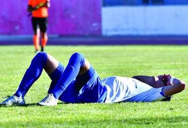 San José perdió el sábado en Oruro ante Blooming. Fue su último partido.  Foto: internet