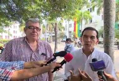 Borestein y Herrera presentaron el documento con su propuesta