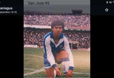 Roly Paniagua fue figura de San José en 1995.