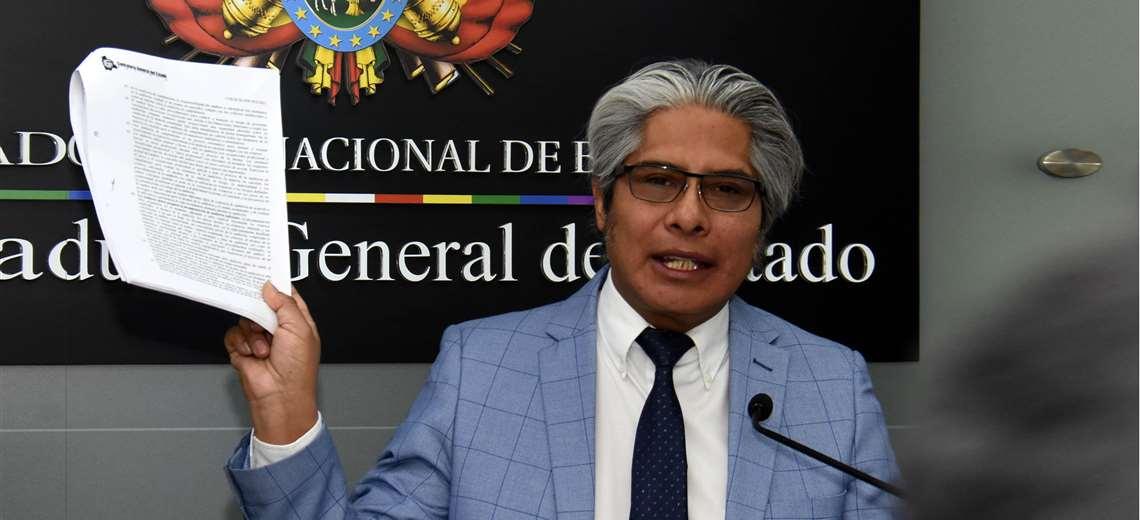 Wilfredo Chávez, procurador general del Estado