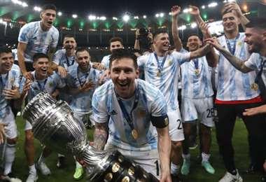 Argentina es la campeona actual de la Copa América. Foto: Internet