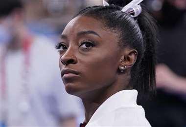 La gimnasia Simone Biles tiene 24 años. Foto: Internet