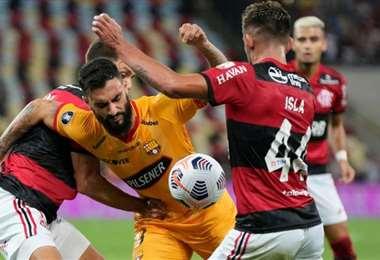 En la ida, Flamengo se impuso en Río de Janeiro por 2-0. Foto: Internet
