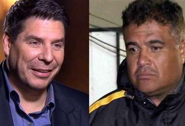 Marcelo Claure (izq.) y Freddy Téllez, envueltos en otra polémica. Fotos: Internet