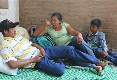 Supepi junto a su familia. Foto: JC. Torrejón