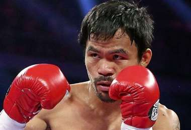 Manny Pacquiao decide colgar los guantes a los 42 años. Foto: Internet