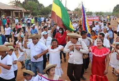 Celebración en San Miguel de Velasco