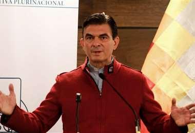 Rodrigo Paz, senador de CC I redes.