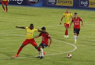 Wilstermann goleó el lunes a Palmaflor por 5-0. Foto: APG