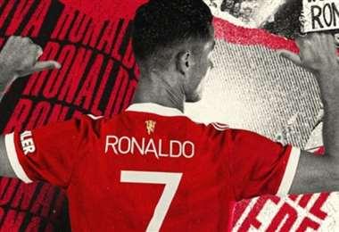 El Manchester United publicó está imagen en sus redes sociales. Foto: Internet