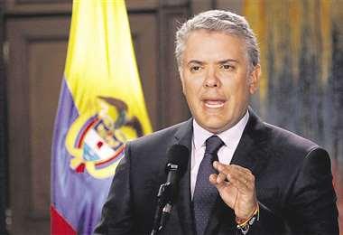 Al mandatario colombiano le falta un año más de gobierno