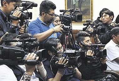 Hay amenazas a periodistas