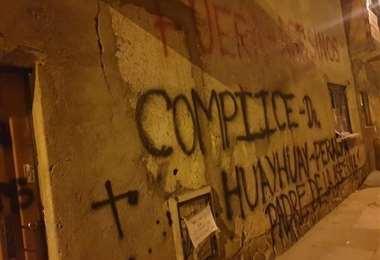 La protesta contra los asesinos en El Alto I redes.