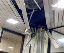 Preso intentó huir por el techo del palacio de Justicia