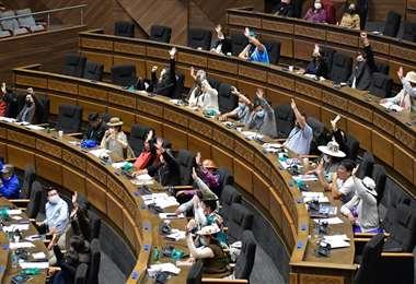 Senadores aprobaron la reformulación al PGE 2021