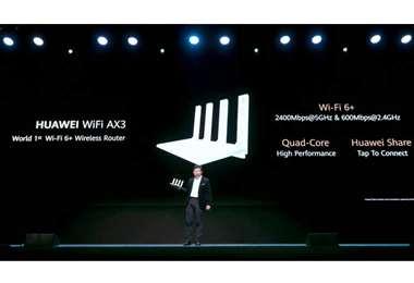 El router WiFi AX3 alcanza los 3,000Mbps