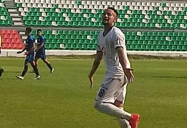 Efraín Cuello marcó un gol para Ciudad Nueva SC. Foto: Prensa ACF