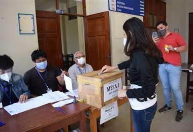 Elecciones universitarias en Tarija