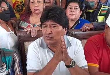 Los cambios en el estatuto del MAS fueron oficializados por Evo Morales en Cobija