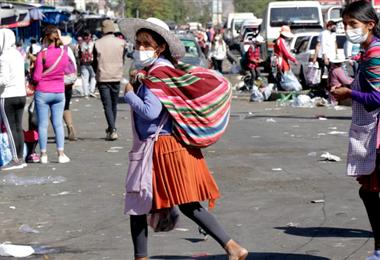 Los infectados acumulados superaron el medio millón esta jornada/Foto EL DEBER