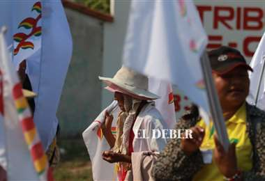 Marcha indígena /Foto: Jorge Gutiérrez