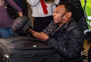 Pelé se encuentra delicado de salud. Foto: Internet