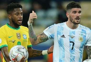 Brasil y Argentina reeditarán el clásico sudamericano. Foto: Internet