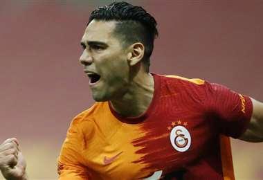 Falcao dejó el Galatasaray turco para volver a España. Foto: Internet