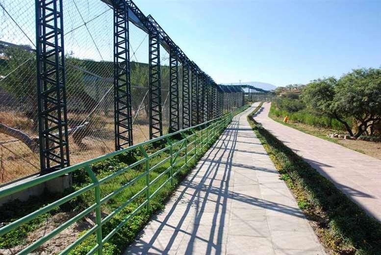 Instalaciones del Bioparque Urbano de Tarija I redes.