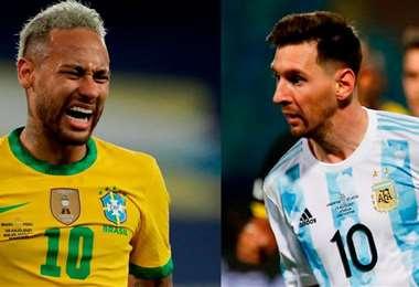 Neymar y Messi acaparan la atención en el clásico. Foto: Internet