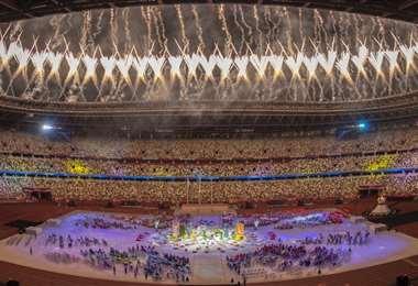 La clausura de los Juegos Paralímpicos fue este domingo. Foto: AFP