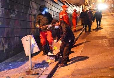 La Policía inició con las investigaciones ayer por la noche/Foto APG