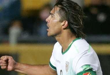 Martins celebró sus goles ante Uruguay con mucha cautela. Foto: AFP