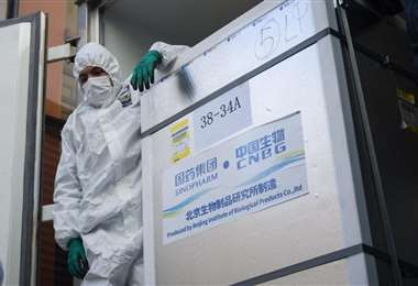 Vacunas anticovid Sinopharm /Foto: Marka Registrada