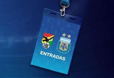 Se pusieron a la venta 17 mil boletos para el partido Argentina-Bolivia.