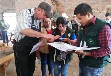 Se busca mejorar la calidad de la leche en Villa Montes (Foto: Senasag)