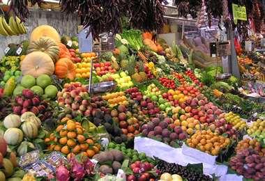 Micronutrientes en frutas y verduras