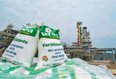 Se espera un precio competitivo de la urea boliviana (Foto: YPFB)