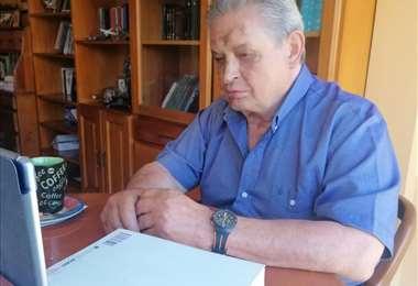 Paz Zamora evitó referirse a un nuevo partido político