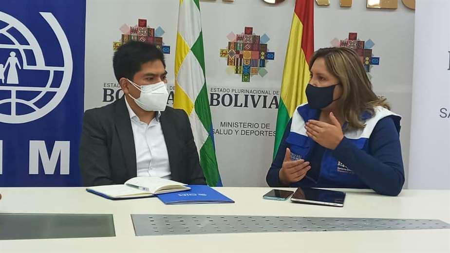 Viceministra de salud abre el SUS para extranjeros. Foto: ABI